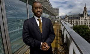 Strive Masiyiwa - founder of Econet Wireless. Image from guardian.co.uk